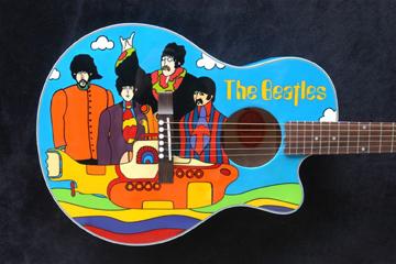 El Arte de Lou Yanez en guitarras...